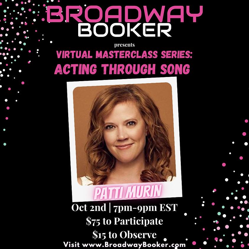 Patti Murin Online Masterclass - Acting Through Song