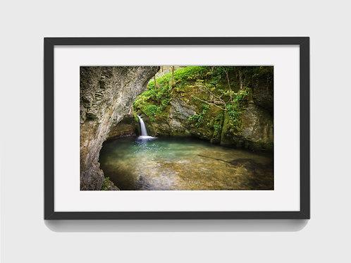 Secret Waterfall in the Peak District