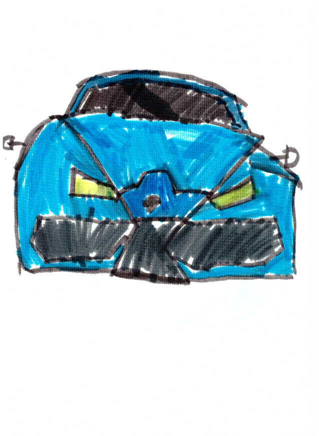 Really cool racing car