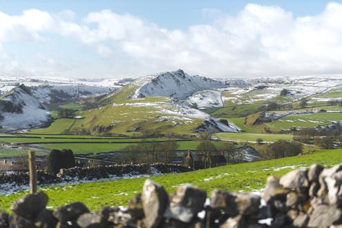 Snowy Peak District