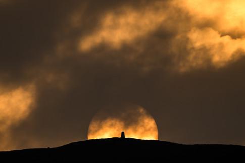Wardlow Sunset
