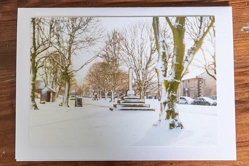 Snowy Litton Village
