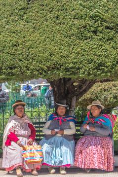 Ladies in Puno