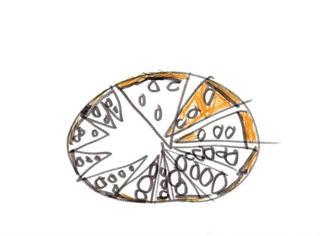 Pepperoni pizza I love you