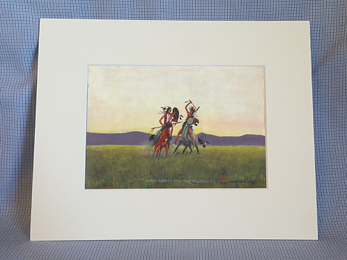 """When Absaroka Meet Blackfeet"" 8x10 Print"