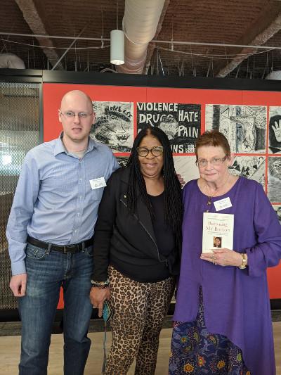 Linda, Daniel, Susan Burton in LA 2020