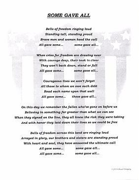 Stuart Rancourt -Some Gave All Lyrics