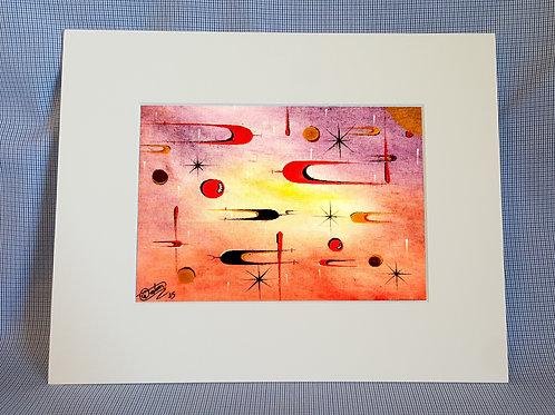 """World of Stars"" 8x10 Print"