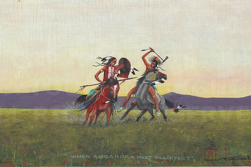 """When Absaroka Meet Blackfeet"""