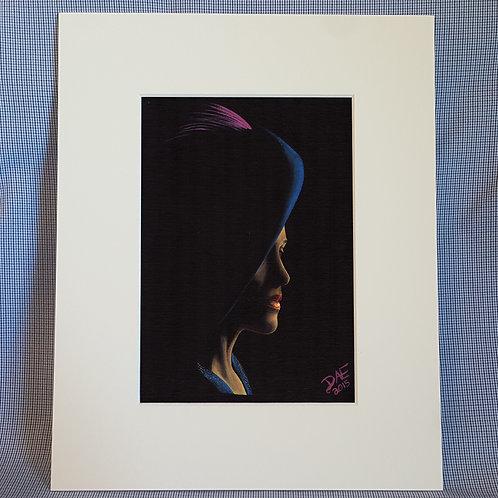 """Lady in Shadow"" 8x10 Print"