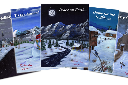 Holiday Post Card 12-Pack