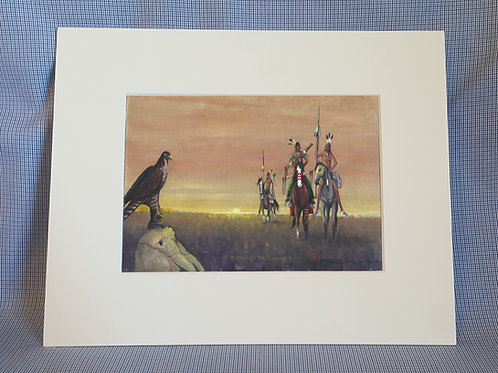 """Buffalo Trackers"" 8x10 Print"