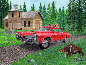 """ '67 Pontiac GTO"""
