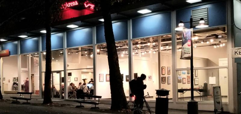 Vet Art Reception 2019 (gallery exterior