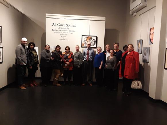 Veteran Art 2019 attending organizations