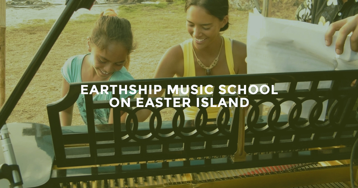 Campaña Earthship Music School
