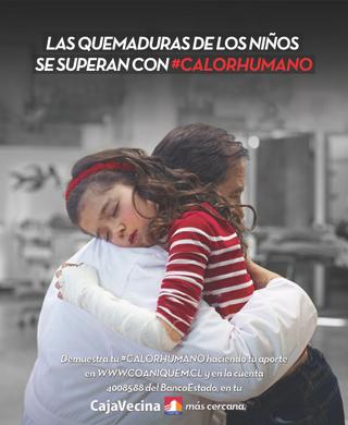 Faltan 10 días para finalizar campaña #Calorhumano de Coaniquem