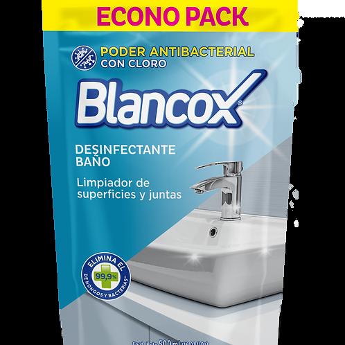BLANCOX DESINFECTANTE BAÑO REPUESTO X500ML
