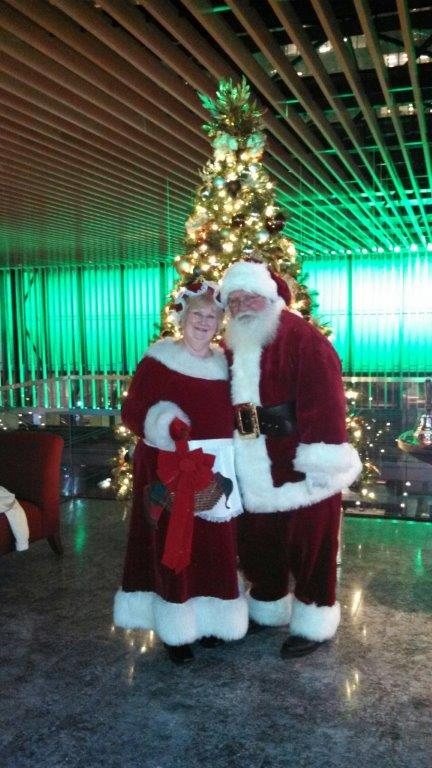 Mr and Mrs. Clause