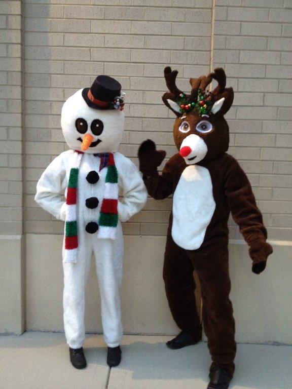 Snowman-Reindeer