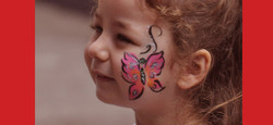 Facepainting Butterfly
