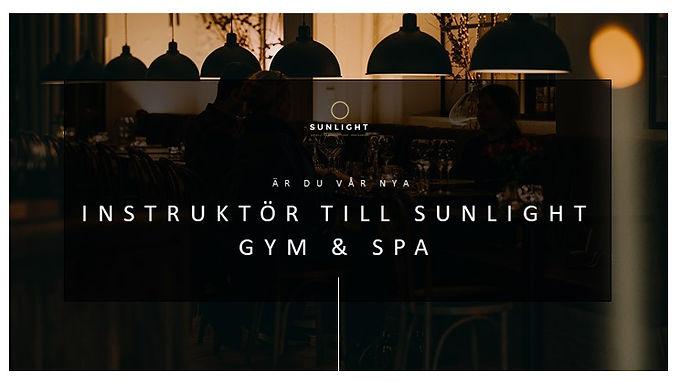 Instruktör till Sunlight Gym & Spa