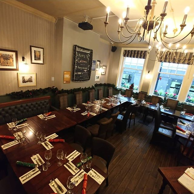Book our function room this christmas, f