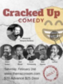 Cracked Up Comedy 2 Feb 2 2019 (updated