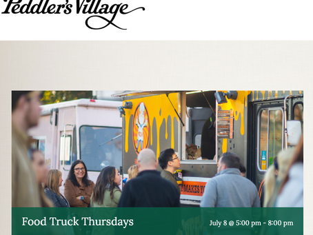 Enjoy an evening of the region's favorite food trucks and local entertainment.