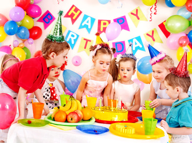 Group of child happy birthday party ..jp