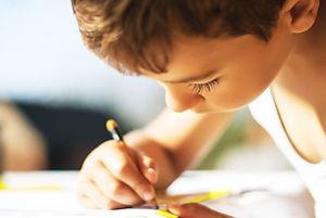 3 CU Boy Writing.jpeg