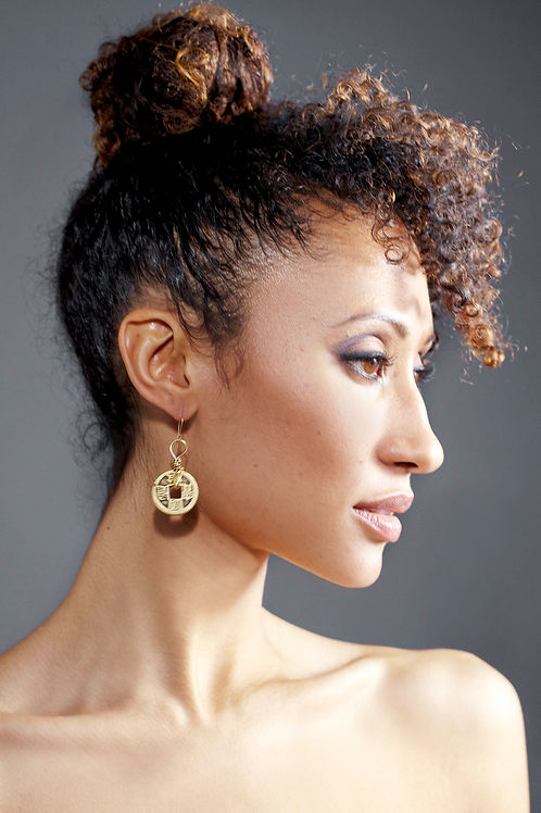 1 Coin Earring