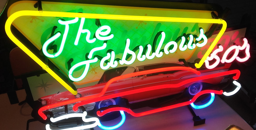 neon fabulous 50's