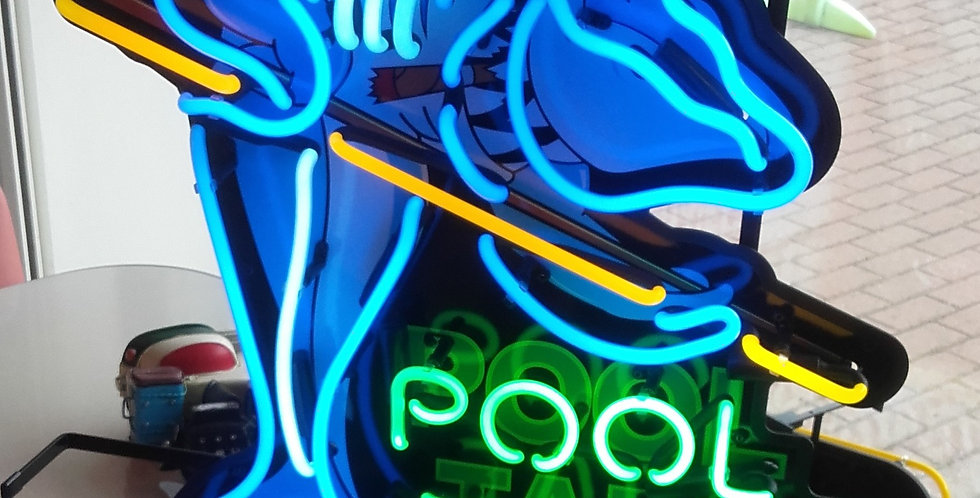 neon pool tables