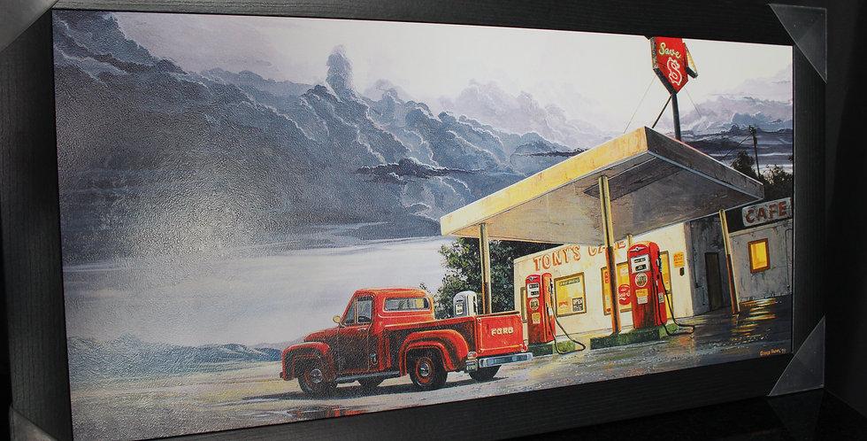 gas station car