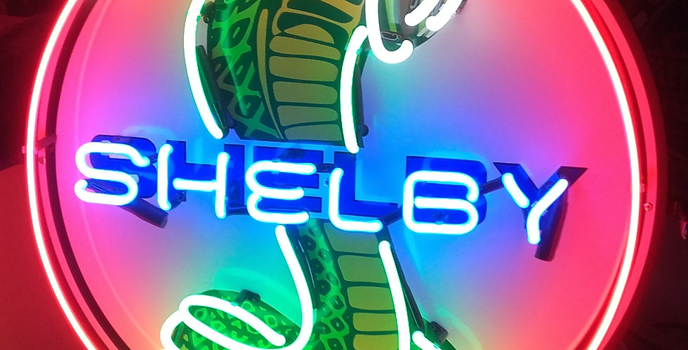 neon ford shelby
