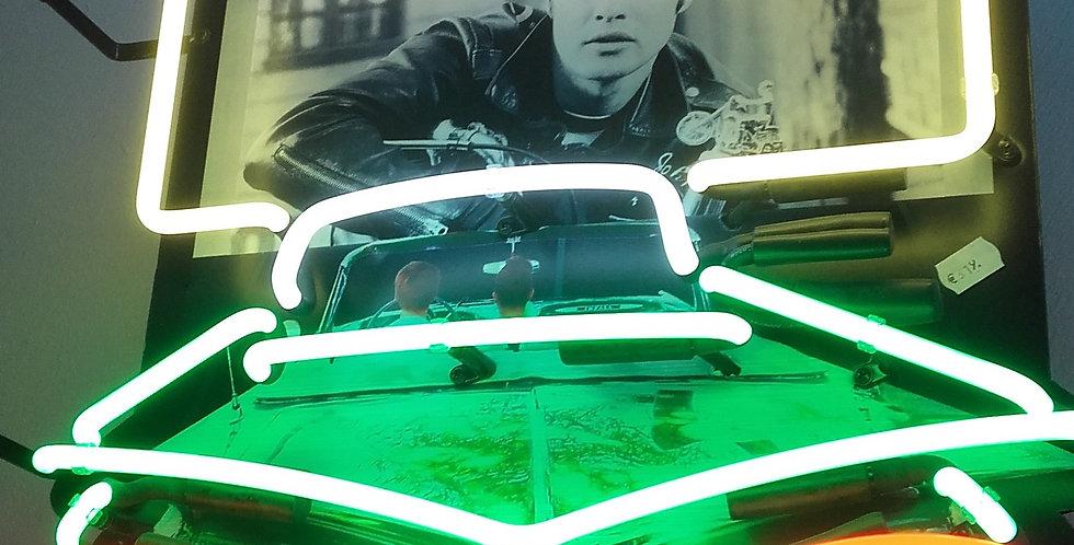 neon 50's car