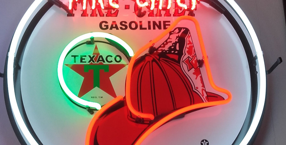 neon fire chief texaco