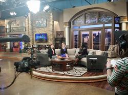 Interview at Cornerstone Television