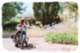 ハーレーダビッドソン バイク女子 ハーレー ハーレー女子 バイカーズファッション バイク用品 ハーフチャップス チャップス レディース 本革 牛革 国産
