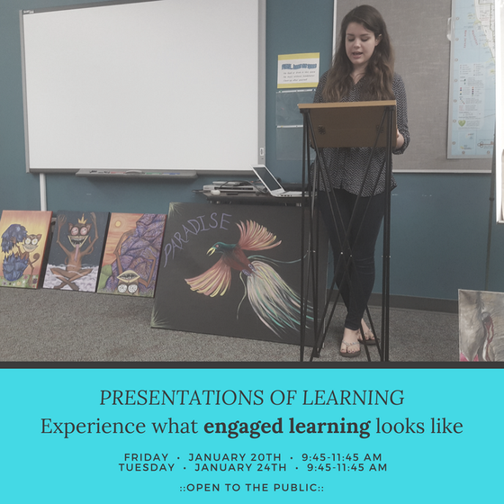 THE BEST of CSCS - Presentations of Learning