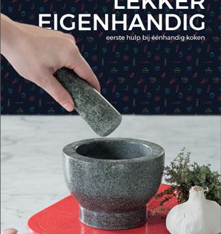 Kookboek 'Lekker Eigenhandig' .