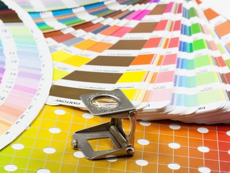 RGB, CMYK of PMS-kleuren in je drukwerk.