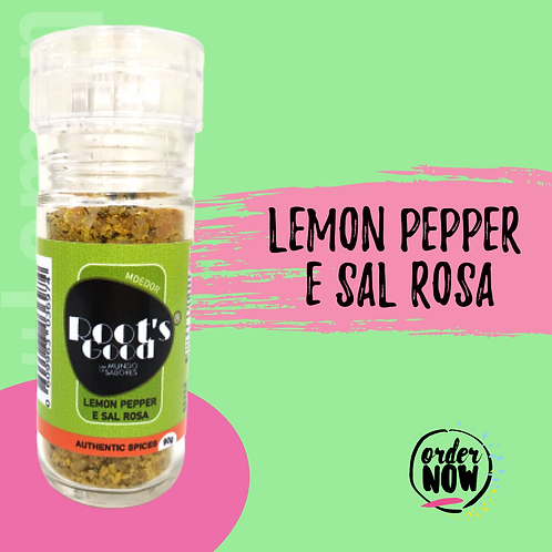 Moedor Lemon Pepper e Sal Rosa