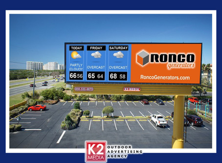 A sunny forecast for Emerald Coast business using digital billboards