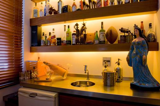 Apartamento Leme - bar