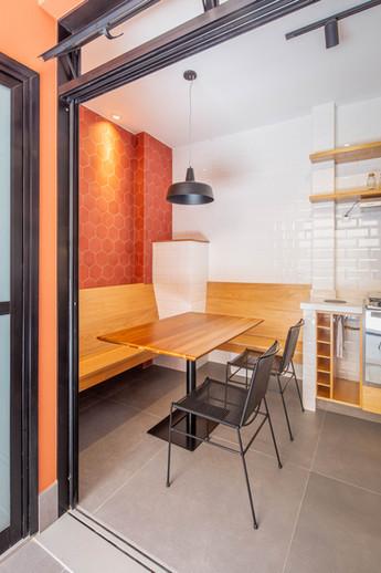 Apartamento Sta Teresa - jantar