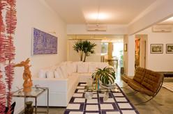 Apartamento Leme - sala de estar