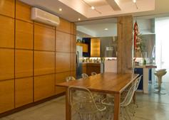 Apartamento Leme - sala de jantar
