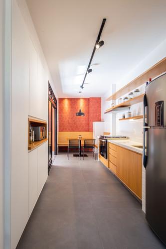 Apartamento Sta Teresa - cozinha e jantar